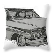 079-car Throw Pillow