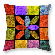 0804 Abstract Thought Throw Pillow