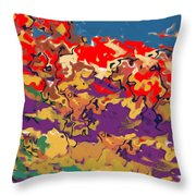 0806 Abstract Thought Throw Pillow