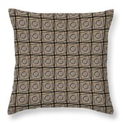 0811 Abstract Thought Throw Pillow