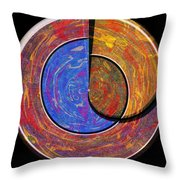 0826 Abstract Thought Throw Pillow