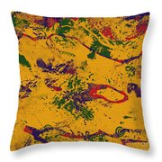 0859 Abstract Thought Throw Pillow