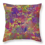0866 Abstract Thought Throw Pillow