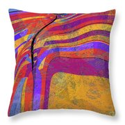 0871 Abstract Thought Throw Pillow