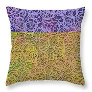 0872 Abstract Thought Throw Pillow
