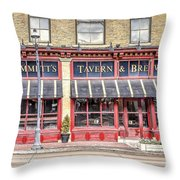 0875 Emmett's Tavern And Brewing Company Throw Pillow
