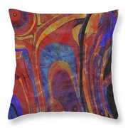 0880 Abstract Thought Throw Pillow