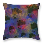 0885 Abstract Thought Throw Pillow