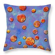 0888 Abstract Thought Throw Pillow