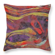 0906 Abstract Thought Throw Pillow