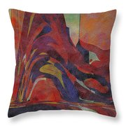 0910 Abstract Thought Throw Pillow