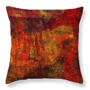 0911 Abstract Thought Throw Pillow