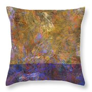 0913 Abstract Thought Throw Pillow