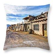 0926 Sky City - New Mexico Throw Pillow