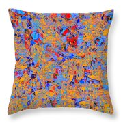 0930 Abstract Thought Throw Pillow