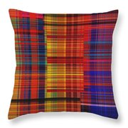 0942 Abstract Thought Throw Pillow