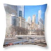 0945 Chicago Throw Pillow