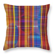 0946 Abstract Thought Throw Pillow