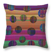 0948 Abstract Thought Throw Pillow