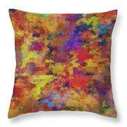 0955 Abstract Thought Throw Pillow