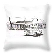 095b-truck Throw Pillow