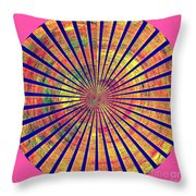 0966 Abstract Thought Throw Pillow