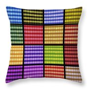 0977 Abstract Thought Throw Pillow