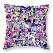 0978 Abstract Thought Throw Pillow