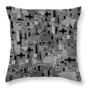 0992 Abstract Thought Throw Pillow