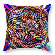 0994 Abstract Thought Throw Pillow