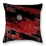 Curtiss-wright Commando Throw Pillow