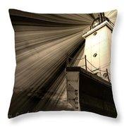 Ludington  Light House Michigan Throw Pillow