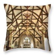 Plaxtol Church  Throw Pillow