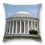 Thomas Jefferson Memorial Throw Pillow