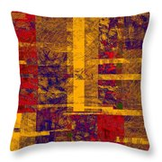 0161 Abstract Thought Throw Pillow