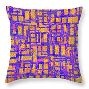 0194 Abstract Thought Throw Pillow
