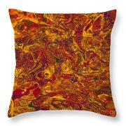 0202 Abstract Thought Throw Pillow