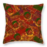 0255 Abstract Thought Throw Pillow