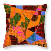 0267 Abstract Thought Throw Pillow