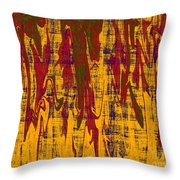 0280 Abstract Thought Throw Pillow