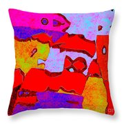 0319 Abstract Thought Throw Pillow