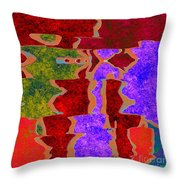0322 Abstract Thought Throw Pillow