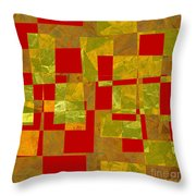 0393 Abstract Thought Throw Pillow