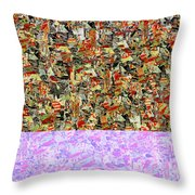0415 Abstract Thought Throw Pillow