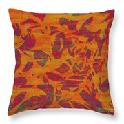 0450 Abstract Thought Throw Pillow