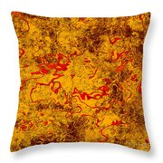 0503 Abstract Thought Throw Pillow