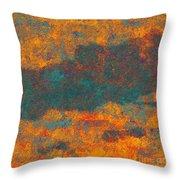 0510 Abstract Thought Throw Pillow