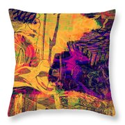 0548 Abstract Thought Throw Pillow