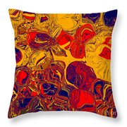 0576 Abstract Thought Throw Pillow