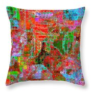 1306 Abstract Thought Throw Pillow